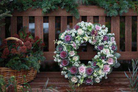 【New】お正月飾り 葉牡丹リースワークショップ 募集中